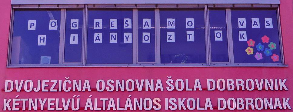 Dvojezična osnovna šola Dobrovnik – Kétnyelvű Általános Iskola, Dobronak