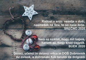 Voščilo-Köszöntő